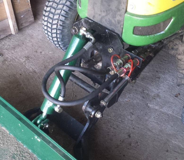 Autocostruzione attrezzature per motocoltivatori e for Kit per il portico anteriore
